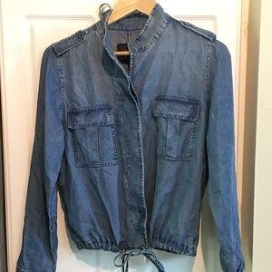 Rails Maverick Dark Vintage Wash Jacket Size Small